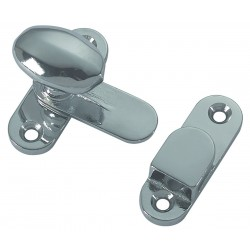 Tavella door stopper in chrome plated brass