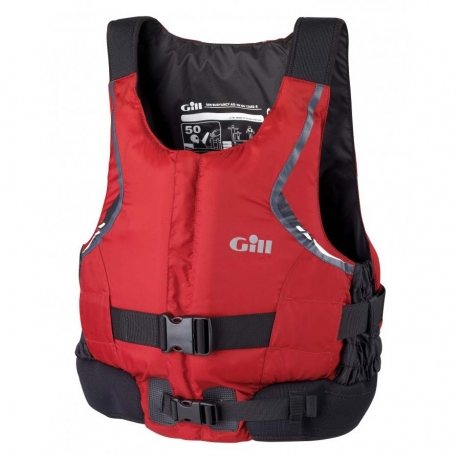 Gill Front Zip Buoyancy Aid New Red - Gill