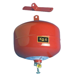 Automatic fire extinguisher 6 Kg heavy