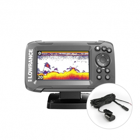 Hook² 4x fishfinder without GPS - Lowrance
