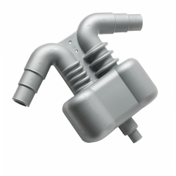 Water and gas separator