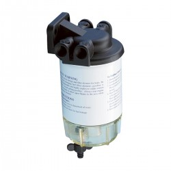 Filter water/fuel separator 10 MICRON full bath / vent