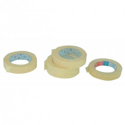 Paper masking tape for painting, resistant up to 60°. Rolls of mt. 50