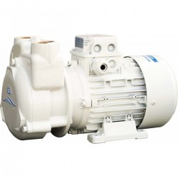 Pump CP self-priming with the pump body and impeller in