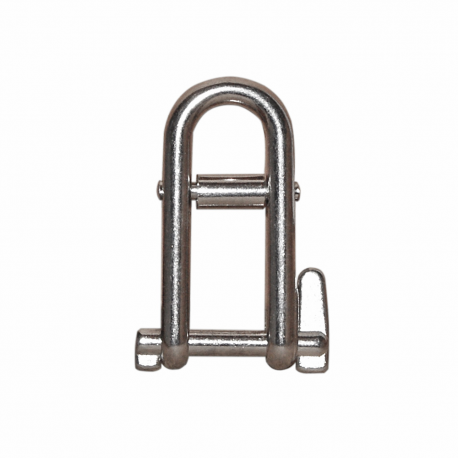 Stainless steel shackle with crosspiece