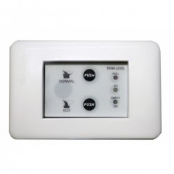 Control panel with touch screen
