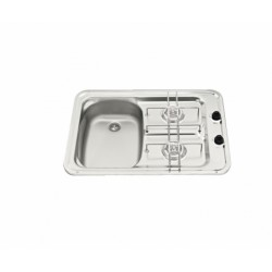 Hob with taps on the cooktop - Dimensions (mm.) 60x42