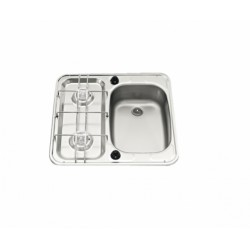 Hob with taps on the cooktop - Dimensions (cm.) 49x46
