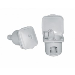 Container for hand shower, Top line white PVC flush - Ceredi