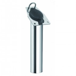Portacanna AISI 316 stainless steel, recessed