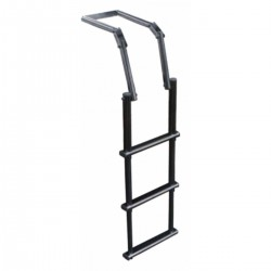 Ladder telescopic stainless steel AISI 316