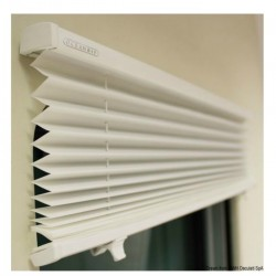 Curtain pleated Skysol Motion for deck hatches and portholes - Oceanair