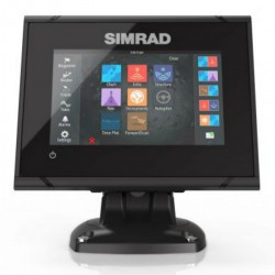 Display GO5 XSE with transducer TotalScan - Simrad