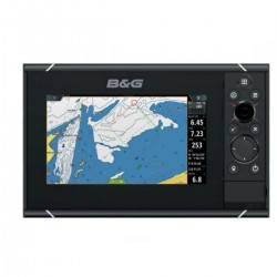 Depth sounder Zeus3-7 with base map of the world - B&G