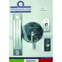 Kit anodes in aluminium for engines Honda BF 75-90-115-150-130