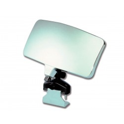 Rearview mirror convex for water skiing
